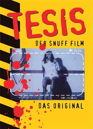 Tesis - Der Snuff Film - Das Original (1996) (Cover A, Collector's Edition, Limited Edition, Mediabook, Uncut, Blu-ray + 2 DVDs + CD)