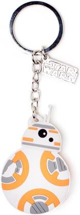 Star Wars - The Force Awakens - BB-8 Rubber Keychain