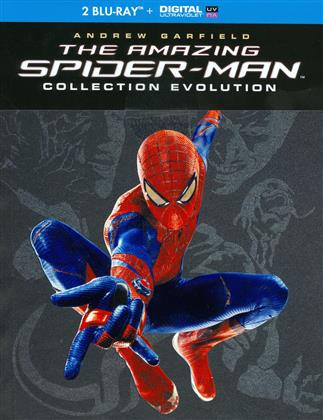 The Amazing Spider-Man / The Amazing Spiderman 2 (Evolution Collection, Collection tus les parfums du monde, Limited Edition, 3 Blu-rays)