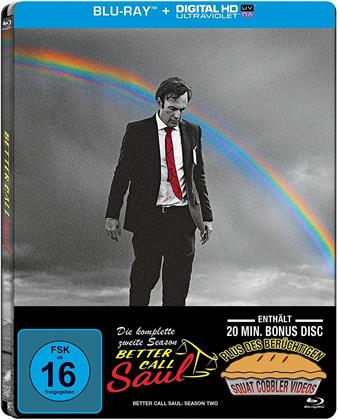 Better Call Saul - Staffel 2 (Limited Edition, Steelbook, 4 Blu-rays)