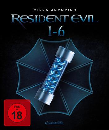 Resident Evil 1-6 (Limited Edition, 3 Blu-rays + 3 Blu-ray 3D (+2D))