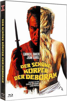 Der schöne Körper der Deborah (1968) (Cover B, Eurocult Collection, Giallo Serie, Limited Edition, Mediabook, Uncut, Blu-ray + DVD)