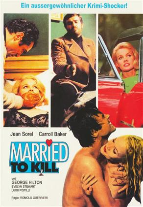 Married To Kill (1968) (Cover C, Eurocult Collection, Giallo Serie, Limited Edition, Mediabook, Uncut, Blu-ray + DVD)