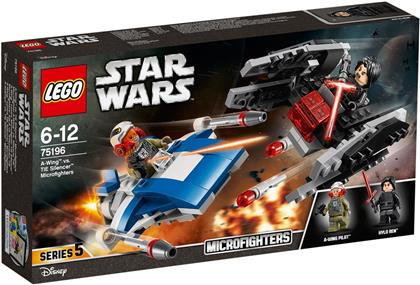 LEGO© 75196 Star Wars(TM) - A-Wing vs. TIE Silencer Microfighter
