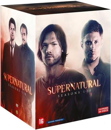 Supernatural - Saisons 1-10 (59 DVDs)