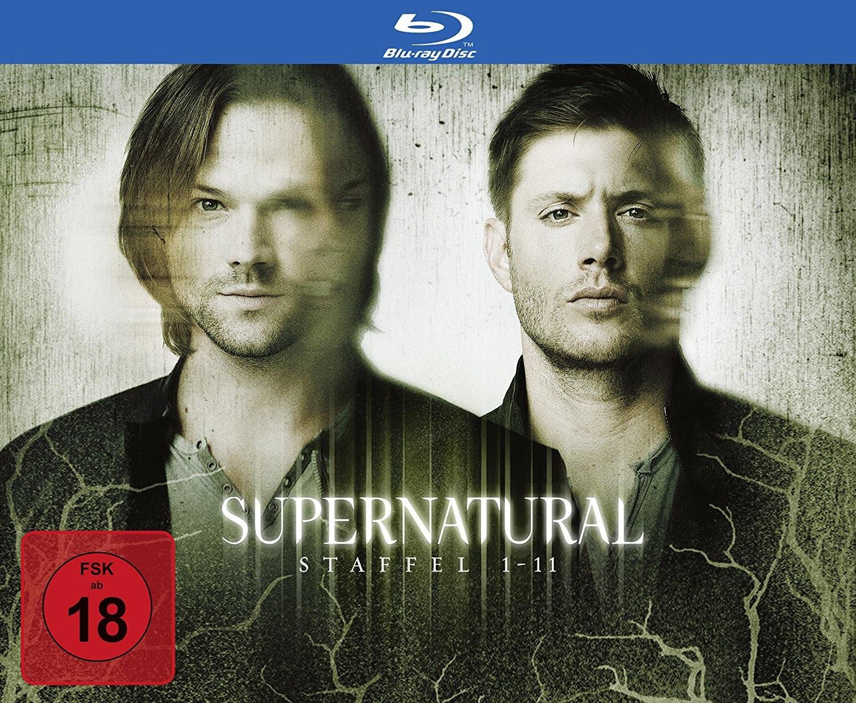 Supernatural - Staffel 1-11 (43 Blu-rays)