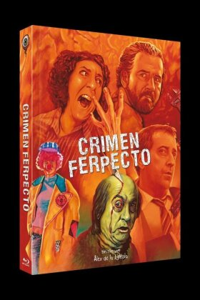 Crimen Ferpecto (2004) (Cover B, Limited Edition, Mediabook, Uncut, Blu-ray + CD)