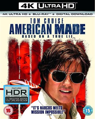 American Made (2017) (4K Ultra HD + Blu-ray)