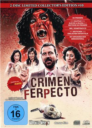 Crimen Ferpecto (2004) (Cover A, Limited Edition, Mediabook, Uncut, Blu-ray + CD)