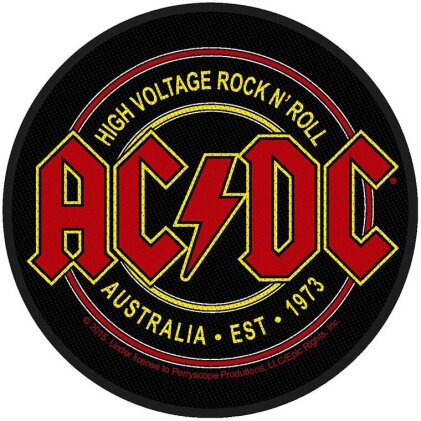 AC/DC Standard Patch - High Voltage Rock N Roll (Loose)