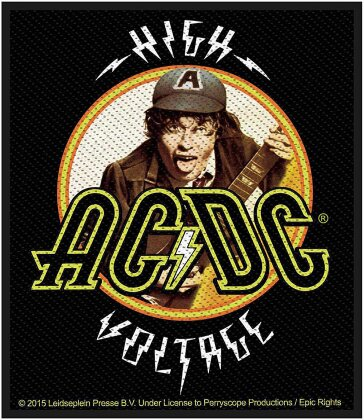 AC/DC Standard Patch - High Voltage Angus