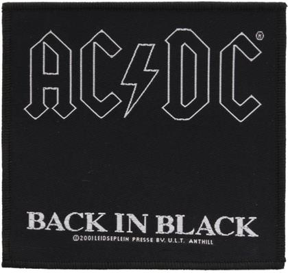 AC/DC - Back in Black Patch