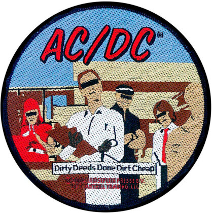 AC/DC Standard Patch - Dirty Deeds (Loose)