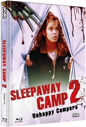 Sleepaway Camp 2 - Unhappy Campers (1988) (Cover C, Collector's Edition, Limited Edition, Mediabook, Blu-ray + DVD)