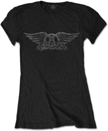 Aerosmith Ladies Tee - Vintage Logo