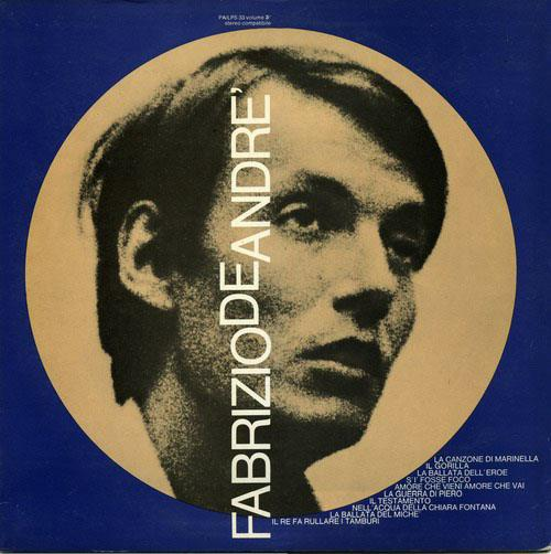 Fabrizio De Andre - Volume 3 (2017 Reissue, Remastered, LP)