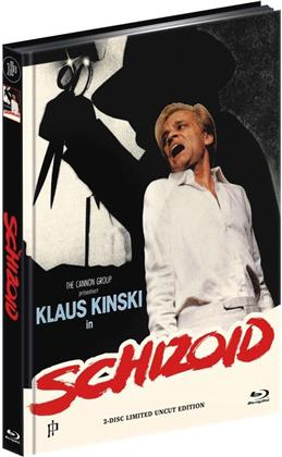 Schizoid (1980) (Cover A, Limited Edition, Mediabook, Uncut, Blu-ray + DVD)