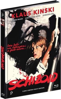Schizoid (1980) (Cover B, Kinoversion, Limited Edition, Mediabook, Uncut, Blu-ray + DVD)