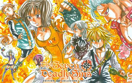 The Seven Deadly Sins - Intégrale Saison 1 (Collector's Edition, Limited Edition, 5 DVDs)
