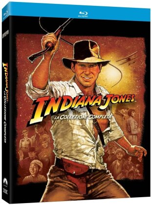 Indiana Jones - La collezione completa (Digipack, 4 Blu-ray)