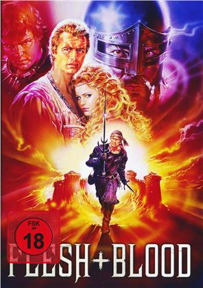 Flesh+Blood (1985) (Cover A, Collector's Edition, Limited Edition, Mediabook, Blu-ray + DVD)