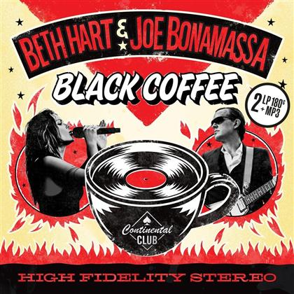 Beth Hart & Joe Bonamassa - Black Coffee (Bonustrack, Red Vinyl, 2 LPs + Digital Copy)