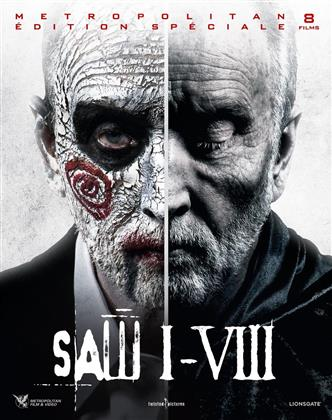Saw 1-8 (Box, Special Edition, 8 Blu-rays)