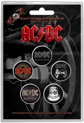 AC/DC - For Those About To Rock Button Badge Pack