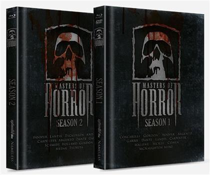 Masters of Horror - Staffel 1 & 2 (Cover Bible, Limited Edition, Mediabook, Uncut, 8 Blu-rays + DVD)