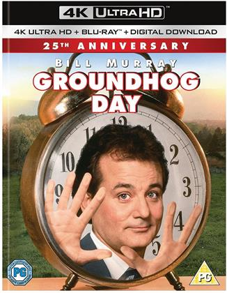 Groundhog Day (1993) (25th Anniversary Edition, 4K Ultra HD + Blu-ray)