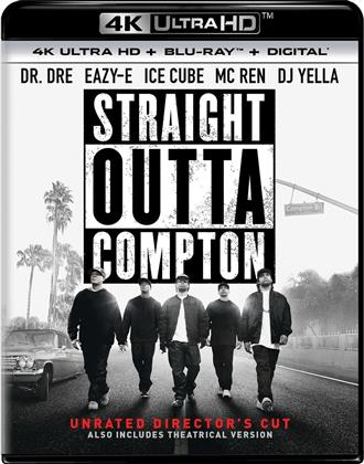 Straight Outta Compton (2015) (4K Ultra HD + Blu-ray)