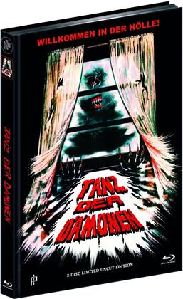 Tanz der Dämonen (1990) (Cover A, Limited Edition, Mediabook, Ultimate Edition, Blu-ray + 2 DVDs)