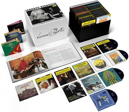 Leonard Bernstein (1918-1990) - The Complete Recordings On DGG & Decca (Limited Edition, 121 CDs + 36 DVDs + Blu-ray)