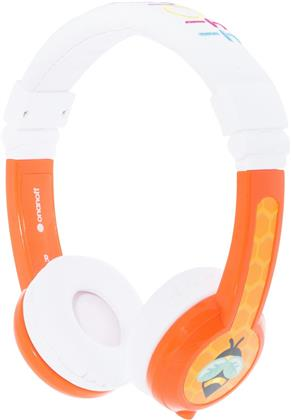 BuddyPhones + micro Explore foldable - orange