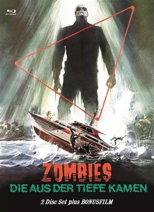 Zombies die aus der Tiefe kamen (1977) (Eurocult Collection, Cover C, Limited Edition, Mediabook, Uncut, 2 Blu-rays + DVD)
