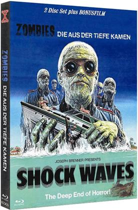Shock Waves - Zombies die aus der Tiefe kamen (1977) (Eurocult Collection, Cover B, Limited Edition, Mediabook, Uncut, 2 Blu-rays)