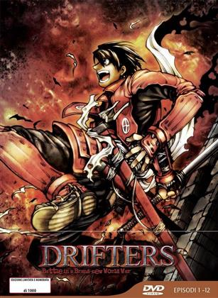 Drifters - Episodi 1-12 (Box, Limited Edition, 3 DVDs)