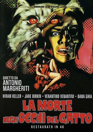 La morte negli occhi del gatto (1973) (Horror d'Essai, Remastered)
