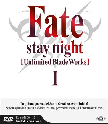 Fate/Stay Night: Unlimited Blade Works - Box 1 - Stagione 1 (Edizione Limitata, 3 DVD)
