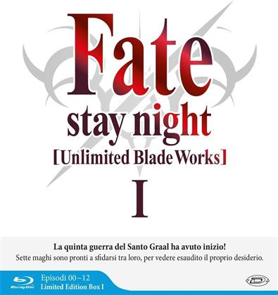Fate/Stay Night: Unlimited Blade Works - Box 1 - Stagione 1 (Edizione Limitata, 3 Blu-ray)