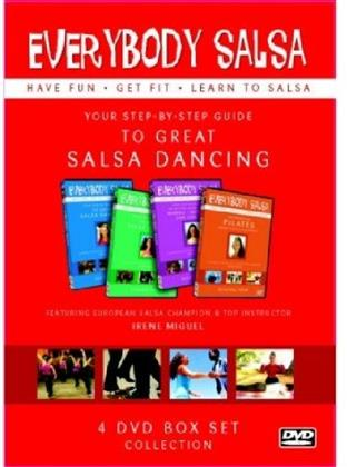Everybody Salsa! - Your Step-By-Step Guide (4 DVDs)