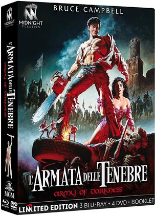 L'armata delle tenebre (1992) (International Version, 4K Mastered, Director's Cut, Kinoversion, Limited Edition, 3 Blu-rays + 4 DVDs)