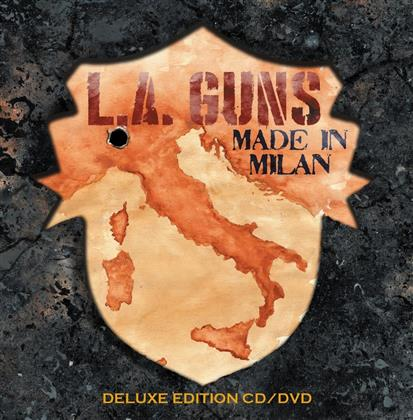 L.A. Guns - Made In Milan (Deluxe Edition, CD + DVD)