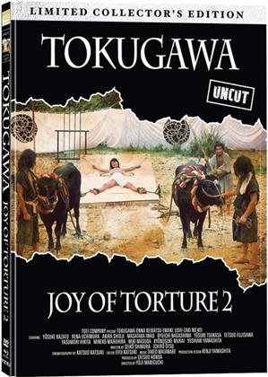Tokugawa - Joy of Torture 2 (1976) (Cover A, Collector's Edition, Limited Edition, Mediabook, Uncut, Blu-ray + DVD)