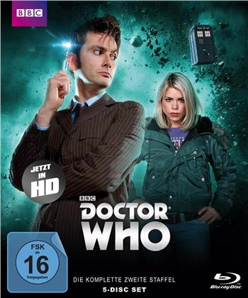 Doctor Who - Staffel 2 (BBC, 5 Blu-rays)