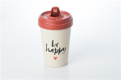 Becher BambooCUP - Happy Calligraphy