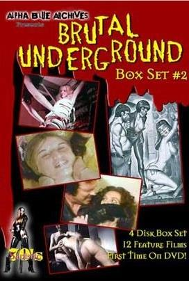 Brutal Underground Box Set 2 (Uncut, 4 DVDs)