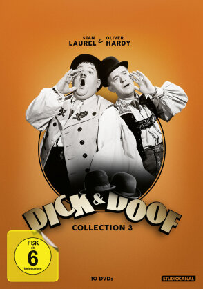 Dick & Doof - Collection 3 (s/w, 10 DVDs)