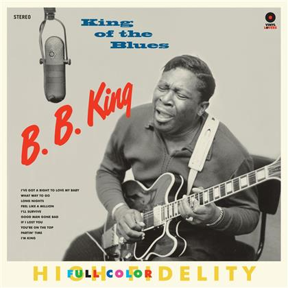 B.B. King - King Of The Blues (Vinyl Lovers, 2 Bonustracks, LP)