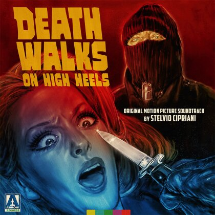 Stelvio Cipriani - Death Walks On High Heels - OST (Limited Edition, Red Vinyl, LP)